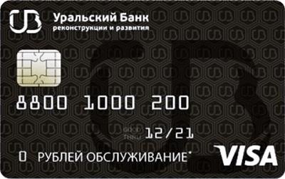 Оформить кредитную карту онлайн УБРиР