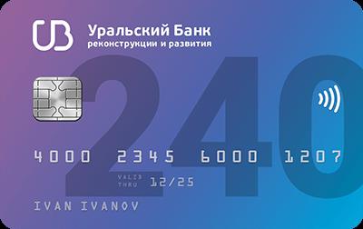 Оформить кредитную карту без процентов онлайн УБРиР